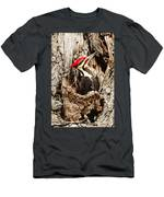 Perfect Pileated Pose Men's T-Shirt (Athletic Fit)