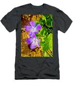 Periwinkles By West Point Inn On Mount Tamalpias-california  Men's T-Shirt (Athletic Fit)