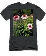 Pink Garden Men's T-Shirt (Athletic Fit)