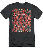 Pixel Art Poster Men's T-Shirt (Athletic Fit)