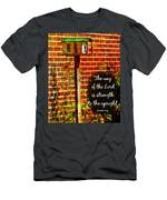 Proverbs 10 29 Men's T-Shirt (Athletic Fit)