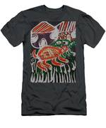 Red And Green Tortoise On Their Way To Bush Men's T-Shirt (Athletic Fit)
