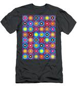 Round Up The Squares Men's T-Shirt (Athletic Fit)