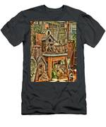 Scenes From An Outside Sale Men's T-Shirt (Athletic Fit)
