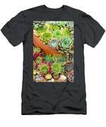 Sempervivum Or House Leeks Mixed  Men's T-Shirt (Athletic Fit)