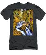 Sol Duc Falls Men's T-Shirt (Athletic Fit)