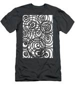 Spirals Of Love Men's T-Shirt (Athletic Fit)