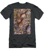 Spruce Cones Men's T-Shirt (Athletic Fit)