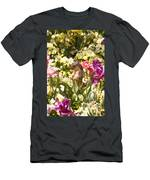 Squirrel In The Botanic Garden-dallas Arboretum V6 Men's T-Shirt (Athletic Fit)