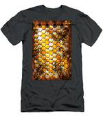 Steampunk - Apiary - The Hive Men's T-Shirt (Athletic Fit)