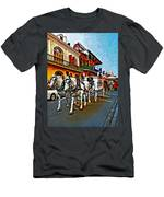 The Final Ride Painted Men's T-Shirt (Athletic Fit)