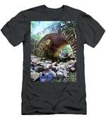 The Gorge Trail Stone Bridge Men's T-Shirt (Athletic Fit)
