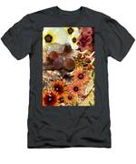 Three In A Row Men's T-Shirt (Athletic Fit)