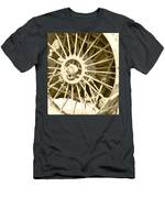 Tractor Wheel Men's T-Shirt (Athletic Fit)