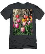 Tulips - Field With Love 07 Men's T-Shirt (Athletic Fit)