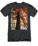 Up Fall Men's T-Shirt (Athletic Fit)
