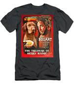 Vizsla Art Canvas Print - The Treasure Of The Sierra Madre Movie Poster Men's T-Shirt (Athletic Fit)