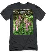 Wall Of Snapdragons Men's T-Shirt (Athletic Fit)
