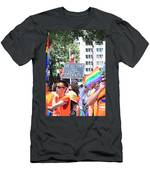 We Support Our Lgbtq Students Men's T-Shirt (Athletic Fit)