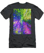 Wood Nymph With Her Magic Of Colours Men's T-Shirt (Athletic Fit)