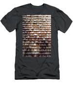 Wood Roof Shingles Men's T-Shirt (Athletic Fit)
