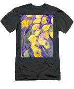 Yellow Tulips 3 Men's T-Shirt (Athletic Fit)