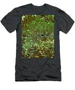 Stoneface At Hossa With Stone Age Paintings Men's T-Shirt (Athletic Fit)