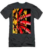 Abstract Sine P 3 Men's T-Shirt (Athletic Fit)