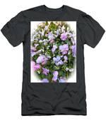 Begonias In Bloom Men's T-Shirt (Athletic Fit)