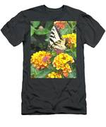 Butterfly Dining Bdwc Men's T-Shirt (Athletic Fit)