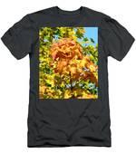 Colorful Leaf Cluster Men's T-Shirt (Athletic Fit)