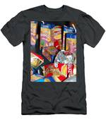 Crisps And Drinks Men's T-Shirt (Athletic Fit)