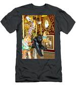 Curious Carousel Beasts Men's T-Shirt (Athletic Fit)