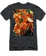 Double Tiger Lily Named Flora Pleno Men's T-Shirt (Athletic Fit)
