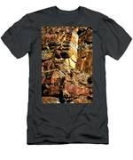 Earth Tones Men's T-Shirt (Athletic Fit)