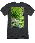 Extreme Shades Of Green Men's T-Shirt (Athletic Fit)