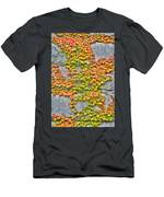 Fall Wall Men's T-Shirt (Athletic Fit)