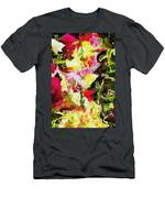 Flowerbox Dragons Men's T-Shirt (Athletic Fit)
