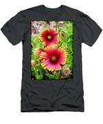 Flowers On The Beach Men's T-Shirt (Athletic Fit)