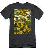 Gazania Gazania Rigens Flowers Men's T-Shirt (Athletic Fit)