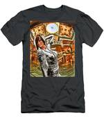 Go Go Girl Men's T-Shirt (Athletic Fit)