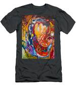 Heart Pumps Blood  Men's T-Shirt (Athletic Fit)