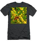 Honey Bee And Sedum  Men's T-Shirt (Athletic Fit)