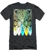 Illumination Of The Glass Butterfly Men's T-Shirt (Athletic Fit)