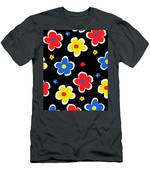 Junior Florals Men's T-Shirt (Athletic Fit)