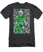 Lady Statue Men's T-Shirt (Athletic Fit)