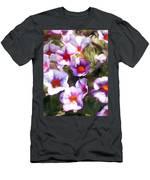 Lavender Million Bells Flowers Men's T-Shirt (Athletic Fit)
