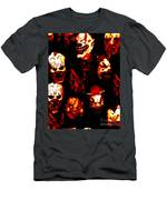 Masks Of Fear Men's T-Shirt (Athletic Fit)