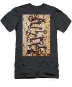 Old Keys Men's T-Shirt (Athletic Fit)