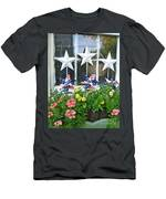 Pinwheels In The Flower Box  Men's T-Shirt (Athletic Fit)